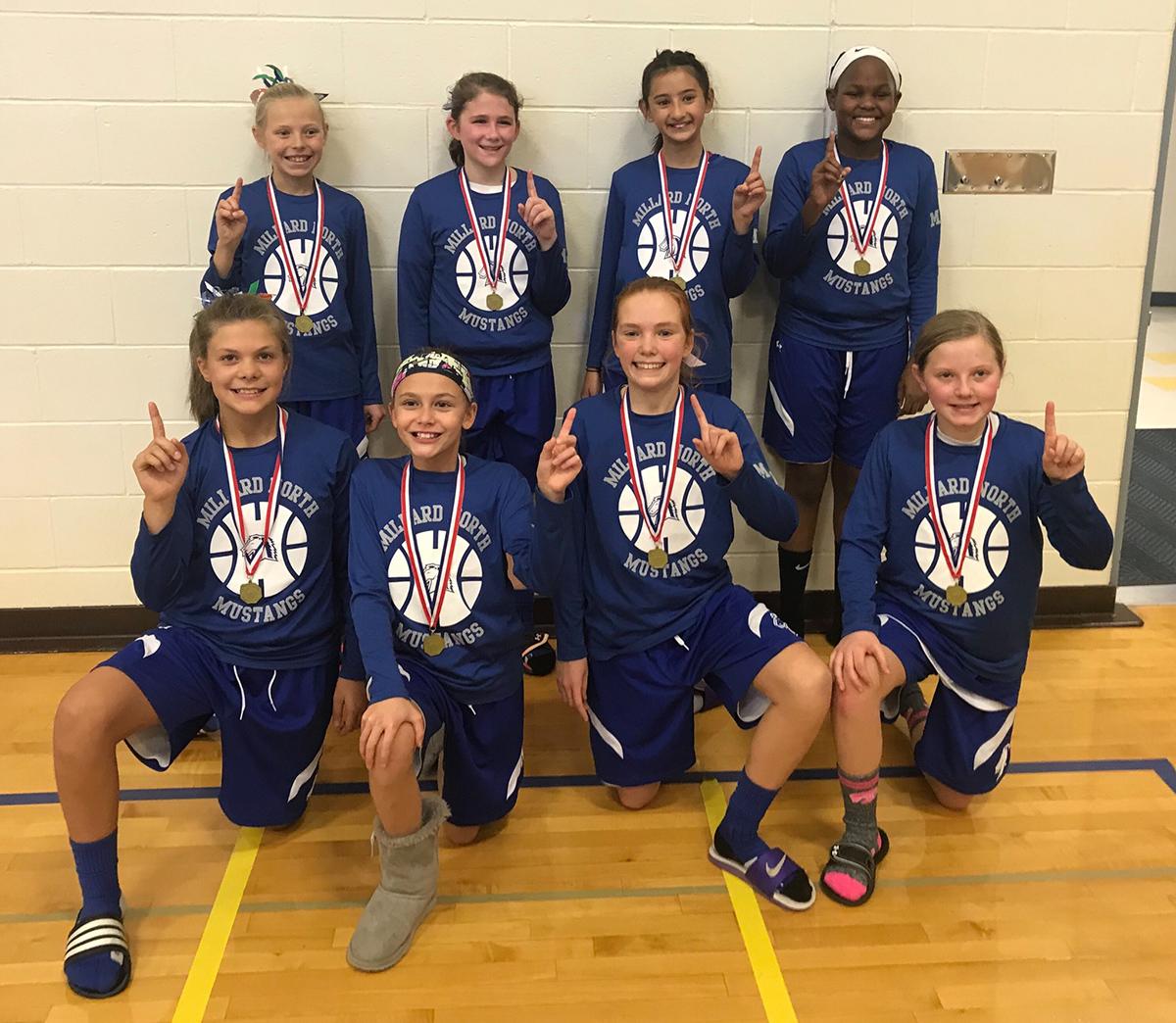 5th Grade Mustang Youth Basketball